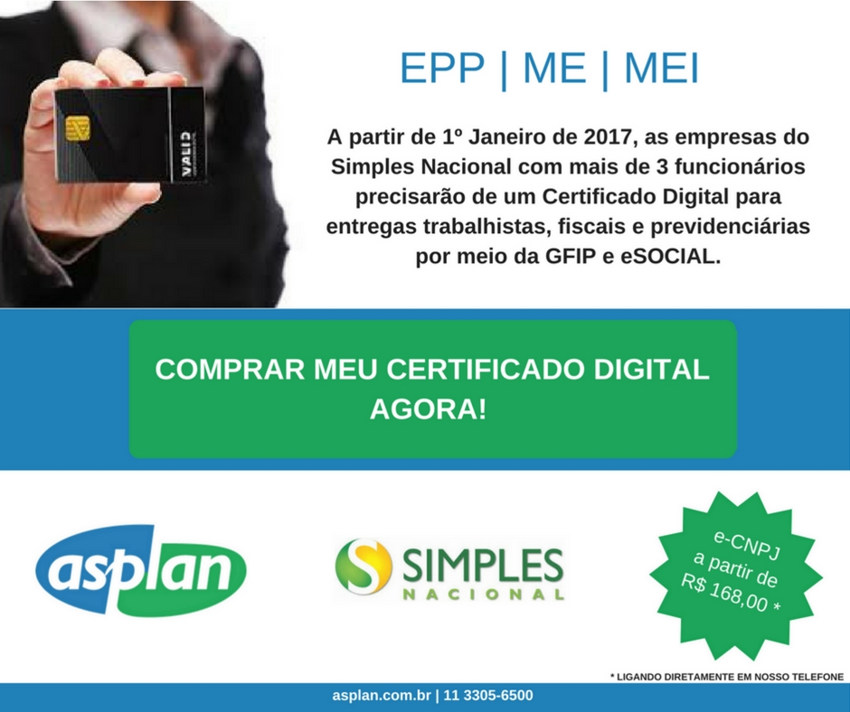 Certificado Digital | Estacionamento No Local | Emissões In Company