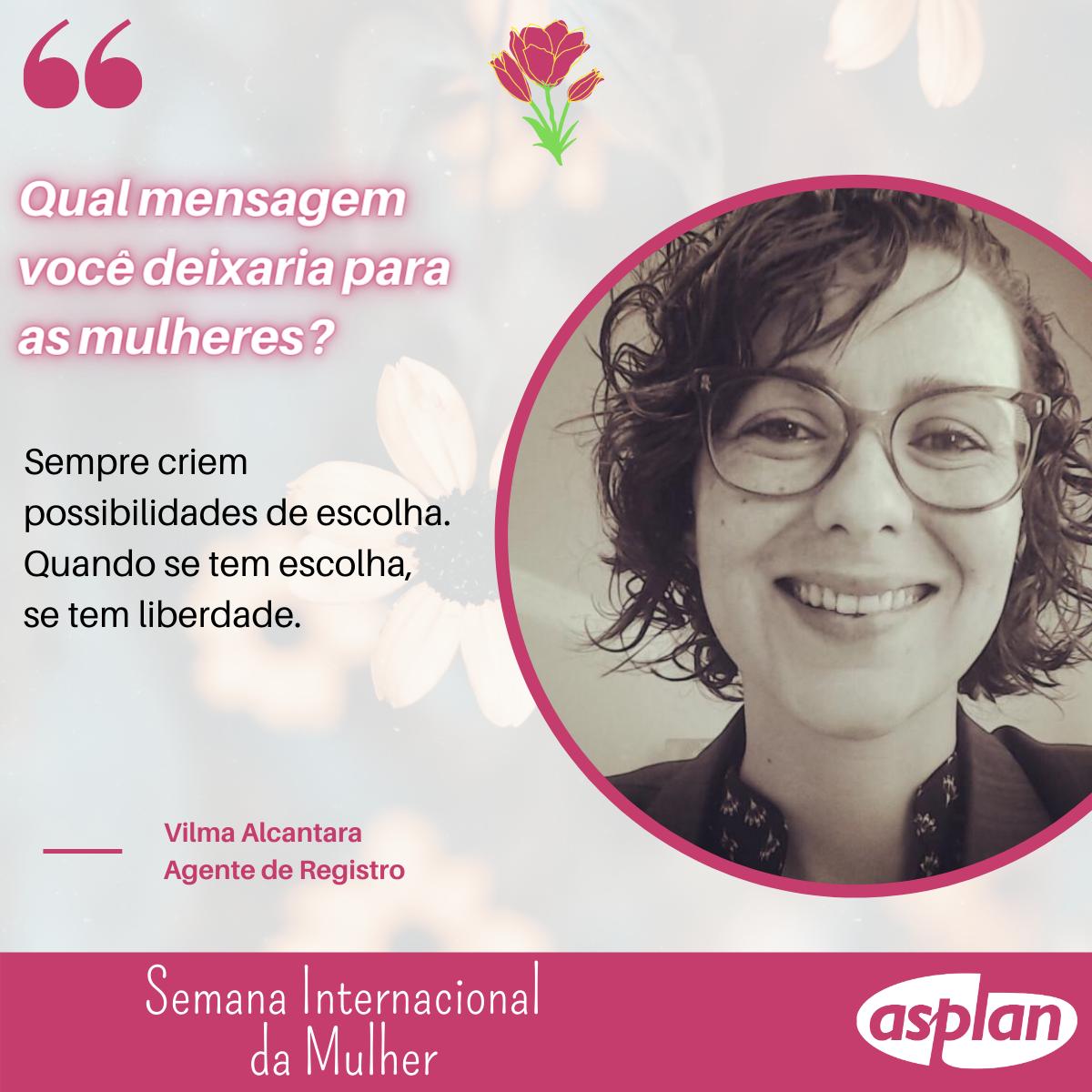 Semana Internacional Da Mulher - Vilma